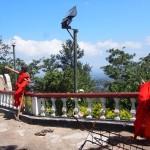 Mönche beim Drachensteigen